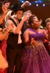 "GLEE: Kurt (Chris Colfer, L) and Mercedes (Amber Riley, R) dance in the ""Prom-asaurus"" episode of GLEE airing Tuesday, May 8 (8:00-9:00 PM ET/PT) on FOX. ©2012 Fox Broadcasting Co. Cr: Mike Yarish/FOX"