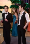 "GLEE: Blaine (Darren Criss, L) and Kurt (Chris Colfer, R) attend the prom in the ""Prom-asaurus"" episode of GLEE airing Tuesday, May 8 (8:00-9:00 PM ET/PT) on FOX. ©2012 Fox Broadcasting Co. Cr: Mike Yarish/FOX"