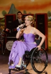 "GLEE: Quinn (Dianna Agron) performs in the ""Prom-asaurus"" episode of GLEE airing Tuesday, May 8 (8:00-9:00 PM ET/PT) on FOX. ©2012 Fox Broadcasting Co. Cr: Mike Yarish/FOX"