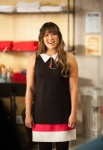 GLEE: Tina (Jenna Ushkowitz, L) asks a glee club member to the school dance in the