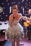 GLEE: Brittany (Heather Morris) performs in the
