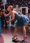 GLEE: Sugar (Vanessa Lengies) performs in the