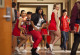 """GLEE: Mercedes (Amber Riley, C), Santana (Naya Rivera, L) and Brittany (Heather Morris, R) perform in the """"Saturday Night Glee-ver"""" episode of GLEE airing Tuesday, April 17 (8:00-9:00 PM ET/PT) on FOX. © 2012 Fox Broadcasting Co. Cr: Adam Rose/FOX"""