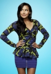 GLEE: Naya Rivera as Santana in the Season Four premiere of GLEE debuting on a new night and time Thursday, Sept. 13 (9:00-10:00 PM ET/PT) on FOX. ©2012 Fox Broadcasting Co. Cr: Tommy Garcia/FOX