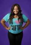 GLEE: Amber Riley as Mercedes in the Season Four premiere of GLEE debuting on a new night and time Thursday, Sept. 13 (9:00-10:00 PM ET/PT) on FOX. ©2012 Fox Broadcasting Co. Cr: Tommy Garcia/FOX