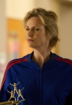 "GLEE: Sue (Jane Lynch) is up to no good in the ""Shooting Star"" episode of GLEE airing Thursday, April 11 (9:00-10:00 PM ET/PT) on FOX. ©2013 Fox Broadcasting Co. CR: Adam Rose/FOX"