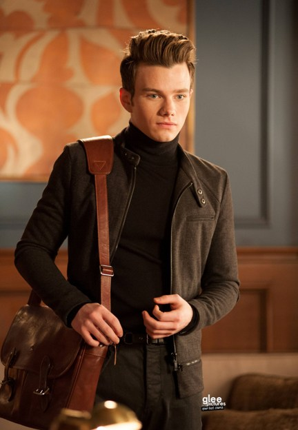 "GLEE: Kurt (Chris Colfer) begs for another chance to audition at NYADA in the ""Swan Song"" episode of GLEE airing Thursday, Dec. 6 (9:00-10:00 PM ET/PT) on FOX. ©2012 Fox Broadcasting Co. CR: Eddy Chen/FOX"