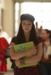 "GLEE: Marley (Melissa Benoist, C) has a conflict in the ""Thanksgiving"" episode of GLEE airing Thursday, Nov. 29 (9:00-10:00 PM ET/PT) on FOX. ©2012 Fox Broadcasting Co. CR: Adam Rose/FOX"