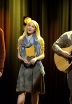 "GLEE: McKinley High's alumni perform in the ""Thanksgiving"" episode of GLEE airing Thursday, Nov. 29 (9:00-10:00 PM ET/PT) on FOX. Pictured L-R: Cory Monteith, Dianna Agron and Mark Salling.  ©2012 Fox Broadcasting Co. CR: Adam Rose/FOX"
