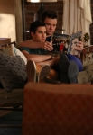 """GLEE: Kurt (Chris Colfer, R) and Blaine (Darren Criss, L) share a moment in the """"The Untitled Rachel Berry Project"""" season finale episode of GLEE airing Tuesday, May 13 (8:00-9:00 PM ET/PT) on FOX. ©2014 Fox Broadcasting Co. CR: Mike Yarish/FOX"""