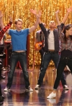 "GLEE: L-R: Mercedes (Amber Riley), Sam (Chord Overstreet), Jake (Jacob Artist), Marley (Melissa Benoist) and Unique (Alex Newell) perform in the ""The Role You Were Born to Play"" episode of GLEE airing Thursday, Nov. 8 (9:00-10:00 PM ET/PT) on FOX. ©2012 Fox Broadcasting Co. Cr: Mike Yarish/FOX"