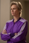 "GLEE: Sue (Jane Lynch) is not happy about the new turn of events in the  ""The Role You Were Born to Play"" episode of GLEE airing Thursday, Nov. 8 (9:00-10:00 PM ET/PT) on FOX. ©2012 Fox Broadcasting Co. Cr: Beth Dubber/FOX"
