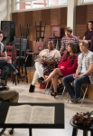 """GLEE: The glee club reunites in the """"Wonder'ful"""" episode of GLEE airing Thursday, May 2 (9:00-10:00 PM ET/PT) on FOX. ©2013 Fox Broadcasting Co. CR: Adam Rose/FOX"""