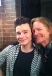 Glee 4x17 - Guilty Pleasures - Chris Colfer and Eric Stoltz