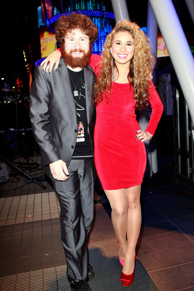 Haley Reinhart born September 9 1990 in Wheeling Illinois is an American singer who rose to fame on the tenth season of American Idol in 2011