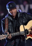 LOS ANGELES, CA - DECEMBER 02: Singer Javier Colon performs at the 4th Annual Holiday Tree Lighting at L.A. LIVE on December 2, 2011 in Los Angeles, California. (Photo by Jesse Grant/WireImage) *** Local Caption *** Javier Colon;