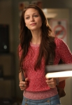 "GLEE: Marley (Melissa Benoist) is a new member of the glee club in ""The New Rachel,"" the Season Four premiere episode of GLEE airing on a new night and time Thursday, Sept. 13 (9:00-10:00 PM ET/PT) on FOX. ©2012 Fox Broadcasting Co. Cr: Mike Yarish/FOX"
