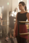 "GLEE: Rachel (Lea Michele) takes a dance class at NYADA in ""The New Rachel,"" the Season Four premiere episode of GLEE airing on a new night and time Thursday, Sept. 13 (9:00-10:00 PM ET/PT) on FOX. ©2012 Fox Broadcasting Co. Cr: Adam Rose/FOX"