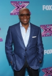 THE X FACTOR: L.A. Reid at THE X FACTOR Final Three Red Carpet and press conference, Monday, Dec. 17 in Los Angeles, CA. CR: Ray Mickshaw / FOX.