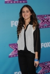 THE X FACTOR: Carly Rose Sonenclar at THE X FACTOR Final Three Red Carpet and Press Conference, Monday, Dec. 17 in Los Angeles, CA. CR: Ray Mickshaw / FOX.