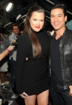 THE X FACTOR FINALIST PARTY: Hosts Khloé Kardashian and Mario Lopez during arrivals for THE X FACTOR FINALIST PARTY Season Two at The Bazaar at The SLS Hotel Beverly Hills on Monday, Nov. 5 in Beverly Hills, CA. CR: Frank Micelotta/FOX