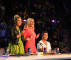 THE X FACTOR: L-R: Demi Lovato, Britney Spears and Simon Cowell on the set of THE X FACTOR airing on FOX. CR: Ray Mickshaw / FOX.