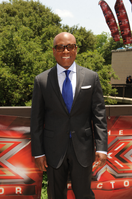 THE X FACTOR: L.A. Reid arrives at the taping of THE X FACTOR in Austin, Texas on Thurday, May 24. CR: Frank Micelotta / FOX.