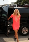 THE X FACTOR: Britney Spears arrives at the taping of THE X FACTOR in Austin, Texas on Thurday, May 24. CR: Frank Micelotta / FOX.