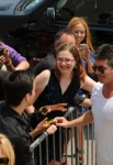 THE X FACTOR: Simon Cowell arrives at the taping of THE X FACTOR in Austin, Texas on Thurday, May 24. CR: Frank Micelotta / FOX.