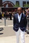THE X FACTOR: L.A. Reid arrives at the taping of THE X FACTOR in Kansas City Friday, June 8. THE X FACTOR airs on FOX. CR: Ray Mickshaw / FOX.