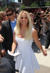 THE X FACTOR: Britney Spears arrives at the taping of THE X FACTOR in Kansas City Friday, June 8. THE X FACTOR airs on FOX. CR: Frank Micelotta / FOX.