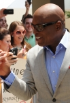 THE X FACTOR: L.A. Reid arrives at the taping of THE X FACTOR in Greensboro, NC. Sunday, July 8. THE X FACTOR airs on FOX. CR: Craig Blankenhorn/ FOX.