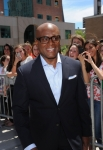 THE X FACTOR: L.A. Reid arrives at the taping of THE X FACTOR in Providence. RI, Tuesday, June 27. THE X FACTOR airs on FOX. CR: Ray Mickshaw/ FOX.