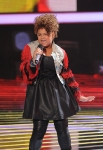 THE X FACTOR: Rachel Crow performs on THE X FACTOR Wednesday, Nov. 16 (8:00-10:00PM ET/PT) on FOX. CR: Ray Mickshaw / FOX.