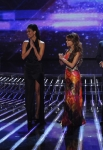 THE X FACTOR: L-R: Judges L.A. Reid, Nicole Sherzinger, Paula Abdul and Simon Cowell  on THE X FACTOR Thursday, Nov. 3 (8:00-9:00 PM ET/PT) on FOX CR: Ray Mickshaw / FOX.