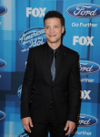AMERICAN IDOL: Justin Guarini arrives for the AMERICAN IDOL Finale airing Thursday, April 7 (8:00-10:06 PM ET Live/PT tape-delayed) on FOX. © 2016 FOX Broadcasting Co. Cr: Scott Kirkland/FOX