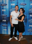 AMERICAN IDOL: Ace Young and Diana DeGarmo arrives for the AMERICAN IDOL Finale airing Thursday, April 7 (8:00-10:06 PM ET Live/PT tape-delayed) on FOX. © 2016 FOX Broadcasting Co. Cr: Scott Kirkland/FOX