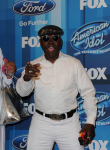 "AMERICAN IDOL: ""Pants on the ground"" singer ""General"" Larry Platt arrives for the AMERICAN IDOL Finale airing Thursday, April 7 (8:00-10:06 PM ET Live/PT tape-delayed) on FOX. © 2016 FOX Broadcasting Co. Cr: Scott Kirkland/FOX"