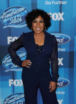 AMERICAN IDOL: Melinda Doolittle arrives for the AMERICAN IDOL Finale airing Thursday, April 7 (8:00-10:06 PM ET Live/PT tape-delayed) on FOX. © 2016 FOX Broadcasting Co. Cr: Scott Kirkland/FOX