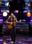 "THE VOICE -- ""Live Top 10"" Episode 1015B -- Pictured: Sawyer Fredericks -- (Photo by: Tyler Golden/NBC)"