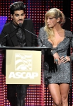 at the 28th Annual ASCAP Pop Music Awards at the Grand Ballroom at Hollywood & Highland Center on April 27, 2011 in Hollywood, California.