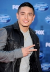 """arrives at Fox's """"American Idol"""" season 10 finale results show held at Nokia Theatre LA Live on May 25, 2011 in Los Angeles, California."""