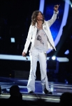 AMERICAN IDOL: Judge Steven Tyler makes his entrance during the AMERICAN IDOL GRAND FINALE at the Nokia Theatre on Weds. May 25, 2011 in Los Angeles, California. CR: Michael Becker/FOX