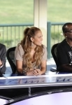 AMERICAN IDOL: L-R: Steven Tyler, Jennifer Lopez and Randy Jackson at the AMERICAN IDOL New Jersey press conference Wednesday, Sep. 29. CR: Frank Micelotta / PictureGroup for FOX.