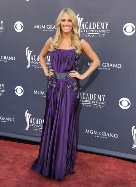 arrives at the 46th Annual Academy Of Country Music Awards RAM Red Carpet held at the MGM Grand Garden Arena on April 3, 2011 in Las Vegas, Nevada. (Photo by Denise Truscello/WireImage)