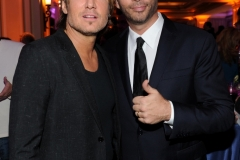 2016 FOX WINTER TCA: (L-R) Keith Urban and Harry Connick Jr. celebrate the WINTER ALL-STAR PARTY during the 2016 FOX WINTER TCA at the Langham Hotel, Friday, Jan. 15 in Pasadena, CA. CR: Frank Micelotta/FOX