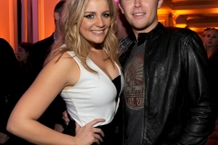 2016 FOX WINTER TCA: (L-R) Lauren Alaina and Scotty McCreery celebrate the WINTER ALL-STAR PARTY during the 2016 FOX WINTER TCA at the Langham Hotel, Friday, Jan. 15 in Pasadena, CA. CR: Frank Micelotta/FOX