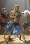 GLEE: Brittany (Heather Morris, C) dreams of being Britney Spears in the