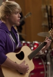 "GLEE: Sam (Chord Overstreet) performs in the ""Comeback"" episode of GLEE airing Tuesday, Feb. 15 (8:00-9:01 PM ET/PT) on FOX. ©2011 Fox Broadcasting Co. CR: Adam Rose/FOX"