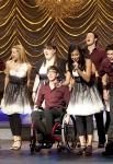 """GLEE: New Directions perform at Sectionals in the """"Special Education"""" episode of GLEE airing Tuesday Nov. 30 (8:00-9:00 PM ET/PT) on FOX. ©2010 Fox Broadcasting Co. CR: Justin Lubin/FOX"""